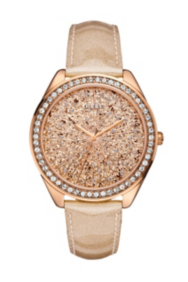 Rose Gold-Tone Dazzling Sport Watch