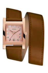 Rose Gold-Tone and Cognac Enduring Chic Watch