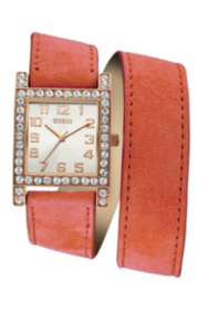 Rose Gold-Tone and Coral Enduring Chic Watch