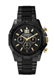Black Sport Chronograph Watch