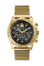 Gold-Tone Sport Chronograph Watch