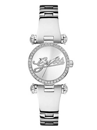 The perfect accent to your day-to-night looks, this petite-sized watch epitomizes understated elegance.  Dazzling crystals and your favorite logo lend trend-perfect appeal—you won't want to leave home without it.