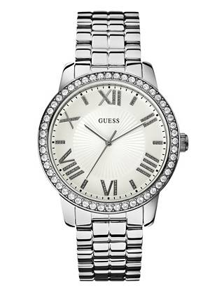 Silver-Tone Gorgeous Oversized Watch