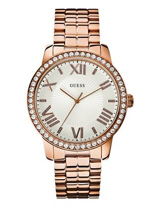 Rose Gold-Tone Gorgeous Oversized Watch