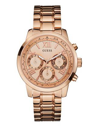 Rose Gold-Tone Feminine Classic Sport Watch