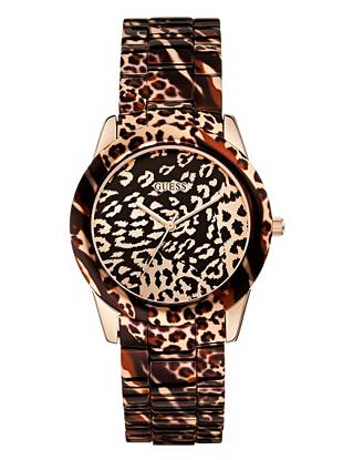 Leopard print is everywhere this season, and this watch takes that exotic trend to a whole new level. Perfect for elevating even the most basic looks, it delivers a sexy finish day or night.