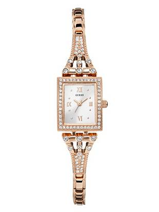 Rose Gold-Tone Classic Retro Petite Watch
