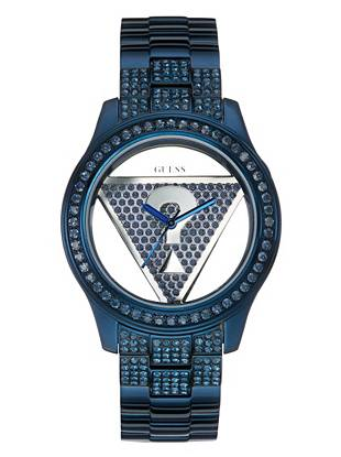 Blue Floating Iconic Triangle Watch