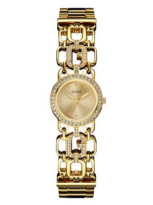 Gold-Tone Iconic Feminine Bangle Watch