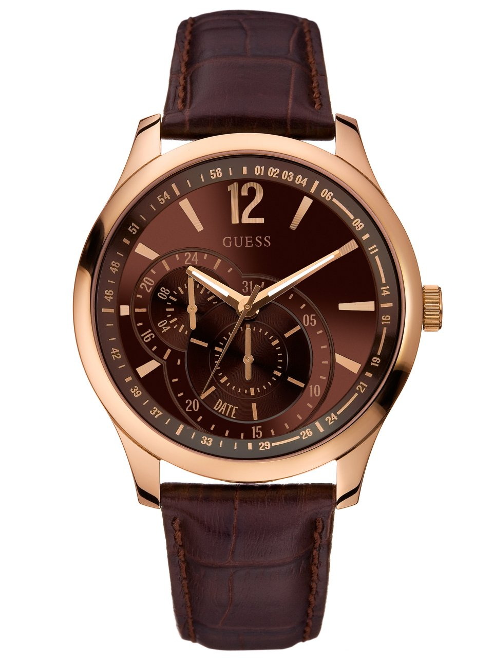 GUESS Contemporary Dress Sport Brown + Rose Go