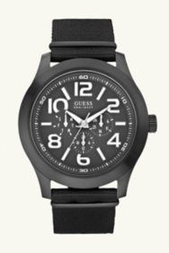 Masculine Casual Watch - Black
