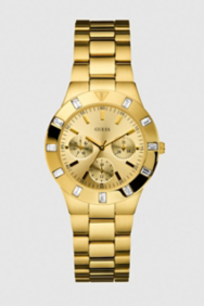 Feminine Hi-Shine Sport Mid-Size Watch - Gold