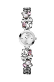 Crystallized Romance Watch - Silver