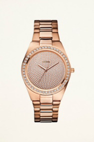 Sporty Radiance Watch - Rose Gold