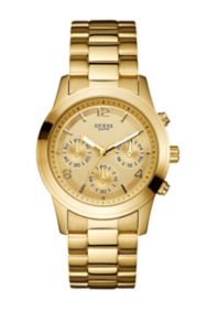 Feminine Contemporary Watch - Gold