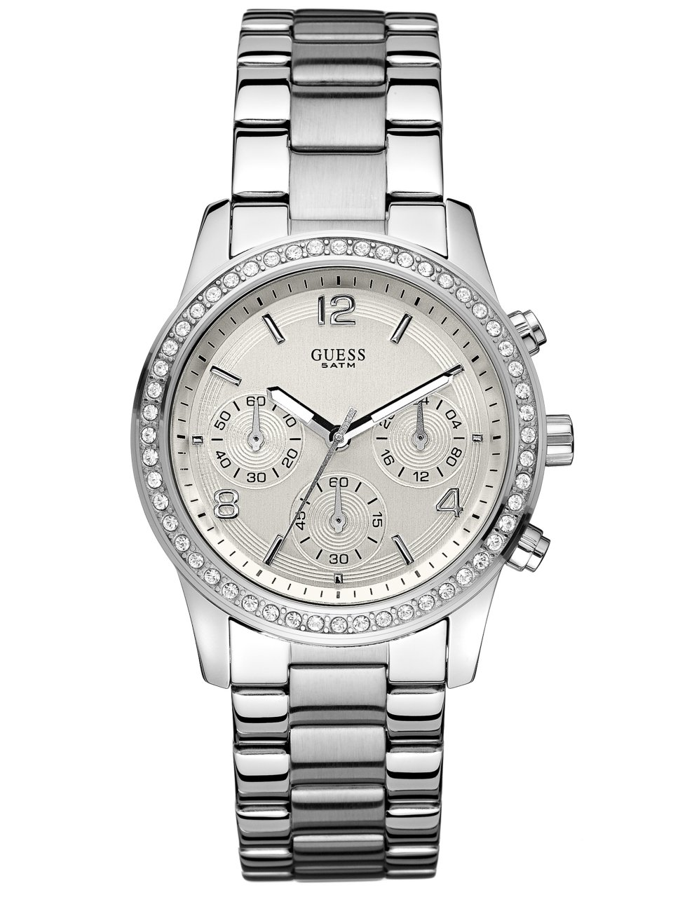 GUESS Feminine Contemporary Chronograph Watch
