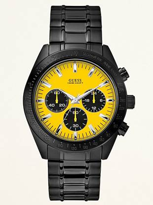 Chronograph Sport Watch – Yellow Face