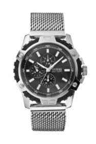 Bold and Sporty Watch - Silver