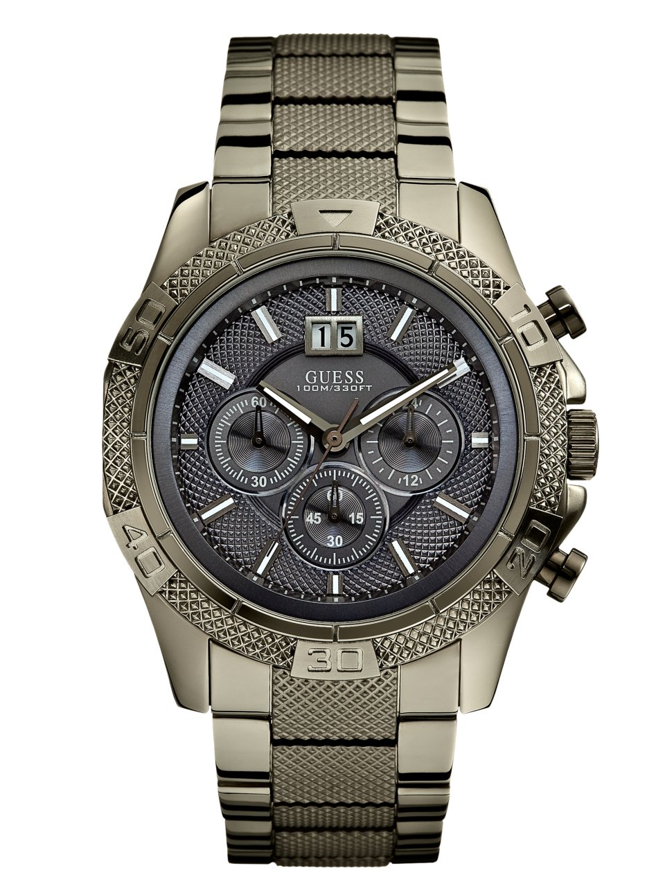 GUESS Boldly Detailed Sport Chronograph Watch