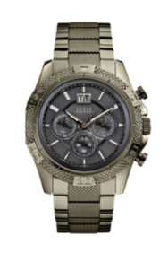 Boldly Detailed Sport Chronograph Watch