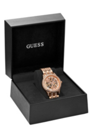Elegant Automatic Watch – Rose Gold
