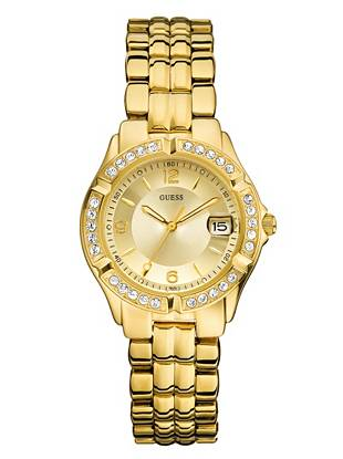 Gold-Tone Dazzling Midsize Sport Watch
