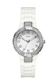 Status In-the-Round Watch - White and Silver