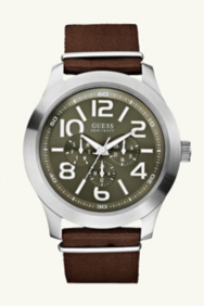 Masculine Casual Watch - Brown
