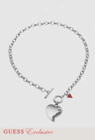 Simple Heart Charm Necklace