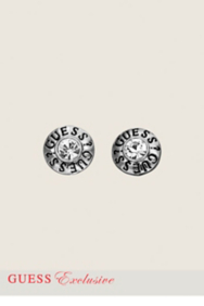 GUESS Disc Stud Earrings
