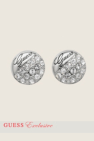 Crystal Round Post Earrings