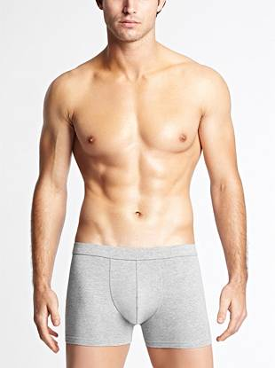 Super-soft stretch cotton jersey creates an ultra-comfortable trunk that's perfect for everyday wear.