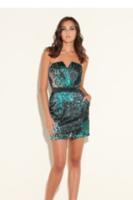 Charissa Strapless Dress