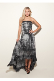 Trina Tie-Dyed Maxi Dress