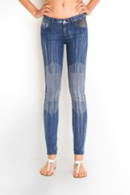 The Festival Collection - Brittney Skinny Studded Concert Jeans