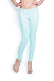 Brittney Ankle Skinny Washed Colored Jeans