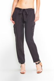 Julianna Solid Cargo Pants