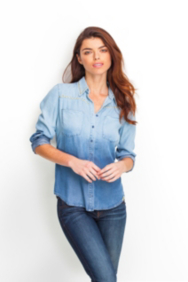 Lexi Studded Denim Shirt