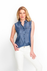 Lori Denim Shirt