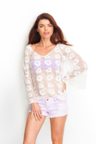 The Festival Collection - Sheer Lace Top