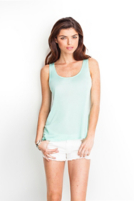 Boyfriend High-Low Tank