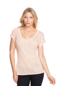 Heathered Boyfriend V-Neck Tee