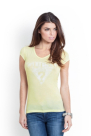 Short-Sleeve Authentic GUESS Tee