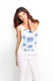 Abstract Mirror-Print Tank