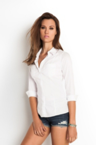 The Classic Shirt in Solid Poplin