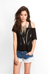 Statement Boxy Tee