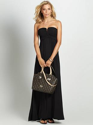 Now this is what we call gorgeous beach-ready style…Effortlessly draped jersey, braided detail and a carefree vibe take this maxi dress to the next level (and beyond).