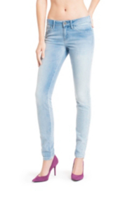 Brittney Skinny Jeans with Floral Back Pockets - Web Exclusive