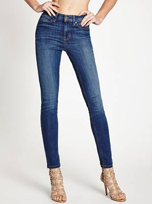 1981 High-Rise Skinny Jeans in Lyon Wash