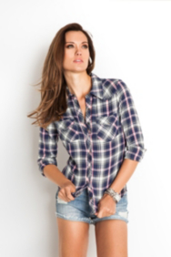 Bowery Long-Sleeve Plaid Shirt